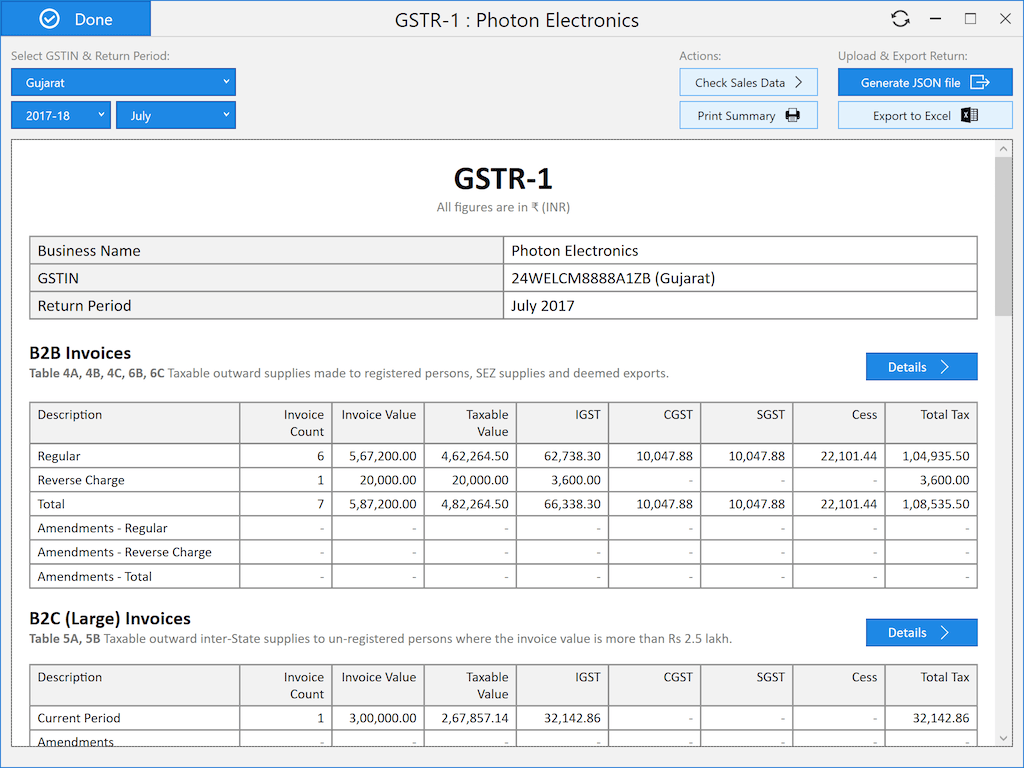 Octa GST — Private, efficient & accurate GST compliance